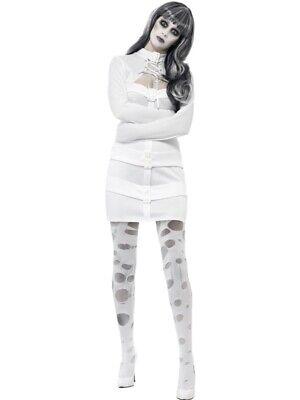 Psychotische Nymphomanin Zwangsjacke  Damen - Zwangsjacke Kostüm Damen