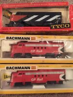 New old stock Bachmann and Tyco HO scale model train Engines