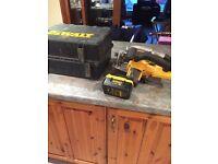 Dewalt 36 volt cordless saw