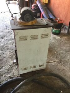 Small Wood Stove. Great for Small Shop