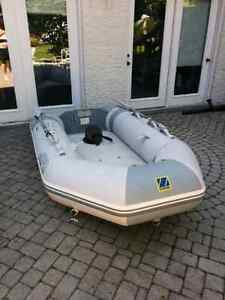 Zodiac with Vbottom inflatable keel