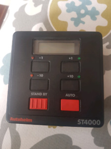 Wanted- autohelm st4000 controlhead