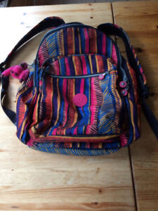 Kipling deluxe laptop backpack