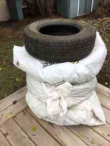 A SET OF 4 WINTER TIRES! Edmonton Edmonton Area image 1