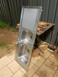 Kitchen sink with mixer tap Evatt Belconnen Area Preview