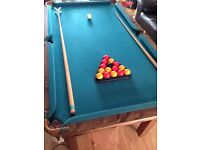 5ft x 3ft pool table (not Xbox, 360, PS3, ps4, Nintendo)