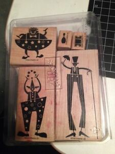 Stampin up clowns