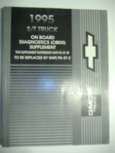 1995 GMC S/T Truck On Board Diagnostics Manual