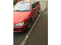 Peugeot 306 2.0 hdi tow bar. Spares or repair
