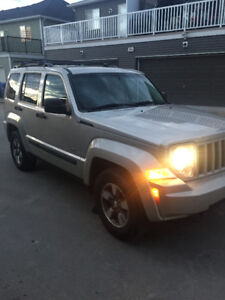 2008 Jeep Liberty 4x4 SUV, Crossover