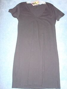 BUMP s/s Black Maternity Dress (NEW) sz l/xzl