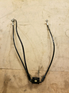 stock dual front Brake and clutch lines
