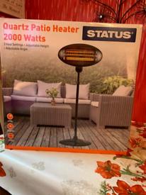 Brand new electric patio heater