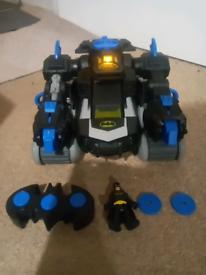 Imaginext rc batman transforming batbot