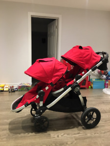 City  Select Double Stroller in good condition (2014 Model)