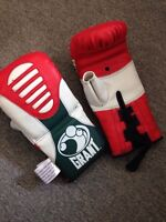 Grant boxing gloves and NEW Mexican style hand wraps