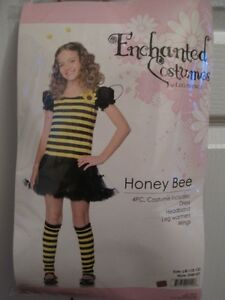 New! Honey Bee costume - size L/G (10-12)