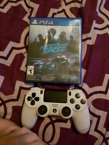 PS4 need for speed and controller