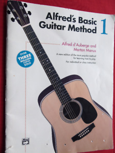 ALFRED'S BASIC GUITAR METHOD BOOK 1