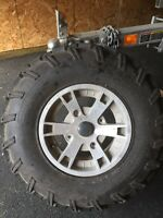 Set of Can Am Tires and Rims
