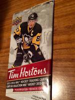 Tim Horton Hockey cards 2016