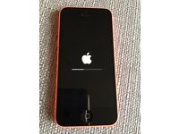 iPhone 5c pink/coral 16gb on EE