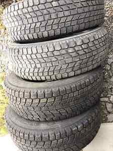 4 pneus hiver 225/65R17 101r Yokohama Geolander i/t