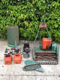 Qualcast Suffolk punch petrol mower