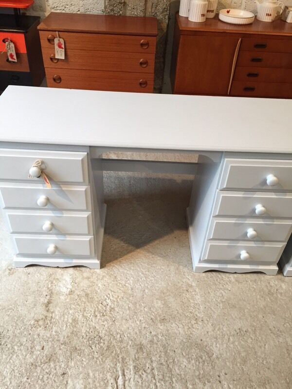 Professionally painted dressing table/ desk