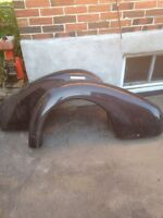 1939 Chevy car fenders