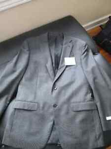 *Brand New* Calvin Klein Modern Fit Wool Suit Size 40R Grey