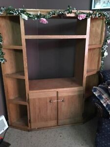Solid Oak Stand for sale