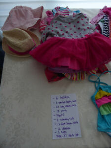 Huge lot of 3T Toddler girl's clothing items