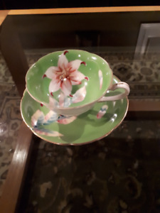 Occupied Japan Collector Cups and Saucers