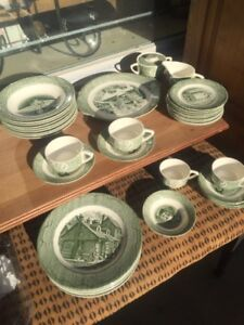 Old Curiosity Shop Dishes Various Prices.