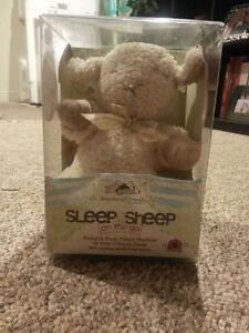 Boxed Sleep Sheep and Receiving blanket/hat Set