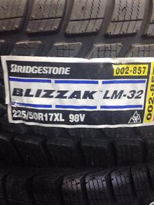 Brand New Bridgestone Blizzak LM-32 225/50R17