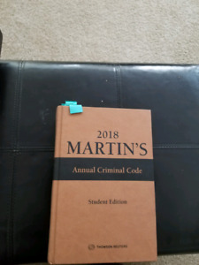 2018 Martin's criminal code