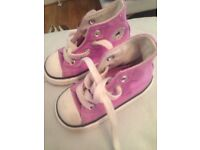 Toddler Converse UK 4. Used once