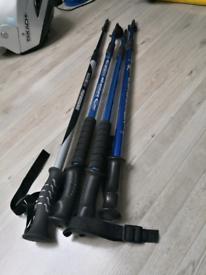 Walking poles X4