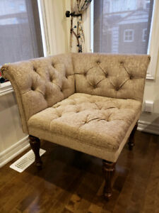Corner Chairs/bench- Both for $550