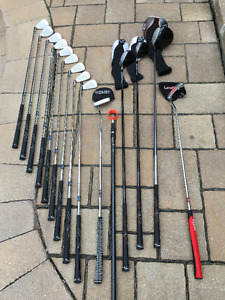 Callaway Golf FT9/X22 with Nike bag and SKB travel case