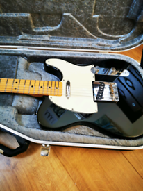 2012 Fender Telecaster with upgraded 52 pick ups and Hiscox case