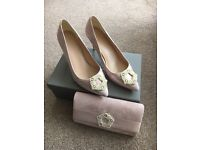 PHASE EIGHT Georgie pearl court shoe & clutch