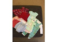 Girls baby clothes - newborn/tiny baby/first size