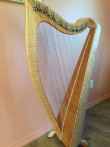 Fisher Harp: 34 string