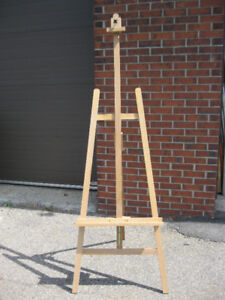Artist Wooden Studio Lyre EASEL with Ratchet lock Brand New
