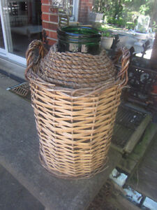 Vintage Large Carboy French Demijohn