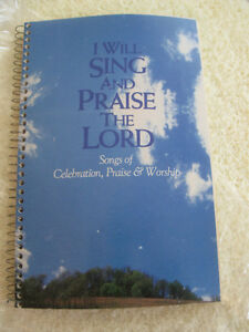 """I WILL SING & PRAISE THE LORD"" Coiled SONG BOOK [1986]"