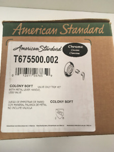 American Standard Valve Trim Kit